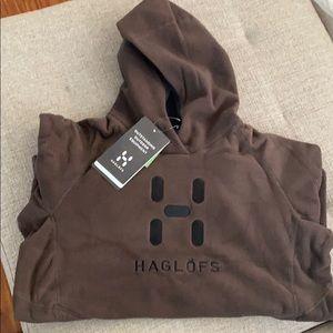 HAGLÖFS  Swook Logo Fleece Hoodie